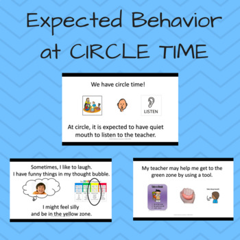 Social Skills: Expected behavior at Circle Time; Emotional