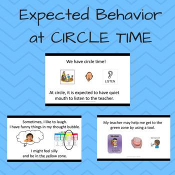 Social Skills: Expected behavior at Circle Time; Emotional Regulation