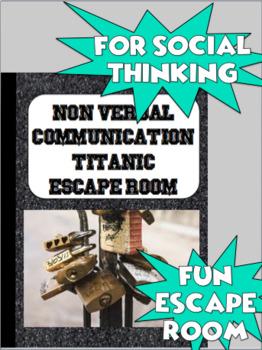 Basic Communication Escape Room (Social Thinking)