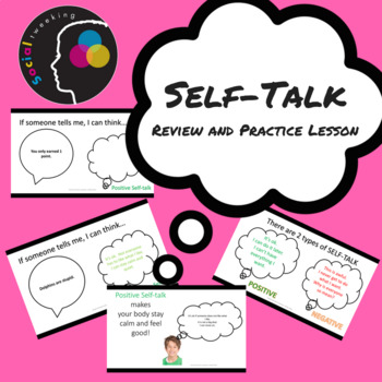 Social Skills: Self-talk review and practice lesson