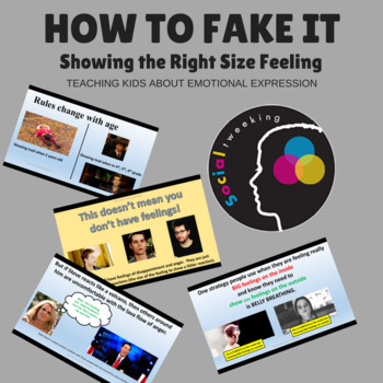 Social Skills: Showing the right size feeling : How to fake it