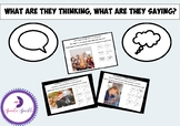 Social Inferences: What Are They Thinking / What Are They Saying?