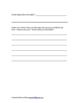 Social Skills Writing Assignments