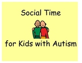 Social Time: Combining Question-Asking and Graphing for Kids with Autism