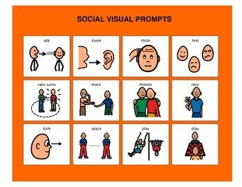 Social Visual Prompts - Autism VISUAL