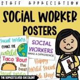 Social Worker Appreciation Posters