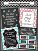 Social Worker Posters SET, Confidentiality Sign, NOT EDITABLE