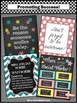 School Social Worker Posters, Social Work Office Door Signs BUNDLE