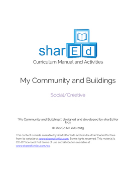 My Community - Social and Creative Activities