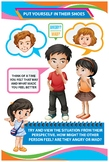Social and Emotional Development Poster - Put Yourself in Their Shoes