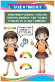 Social and Emotional Development Poster - Take a Timeout