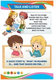 Social and Emotional Development Poster - Talk and Listen