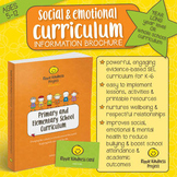 Social and Emotional Learning Activities - Whole School Curriculum Brochure