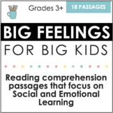 Social and Emotional Learning Reading Comprehension (Big F