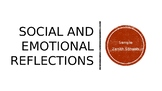 Bell Ringer:Social and Emotional Learning Reflection Promp