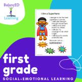 Social and Emotional Program for First Grade - Superhero-themed SEL