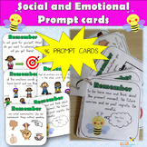 Social and Emotional Prompt cards