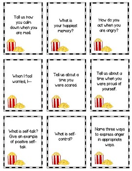 Social and Emotional Skills:  Be the Star! Game