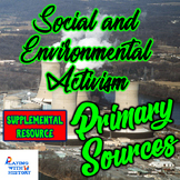 Social and Environmental Activism 5 DBQ Primary Sources