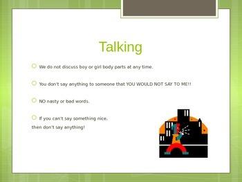 Behavior and Social Rules for Boys