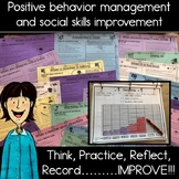 Social skill and behavior practice, reflection and improvement