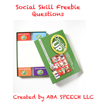 Social skill free activity