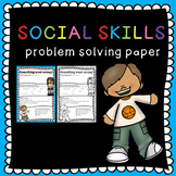 Social skills problem solving: how to solve a conflict between students