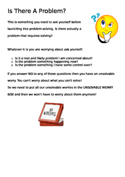 Social skills worksheet