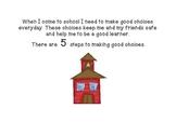 Social Story - Making Good Choices