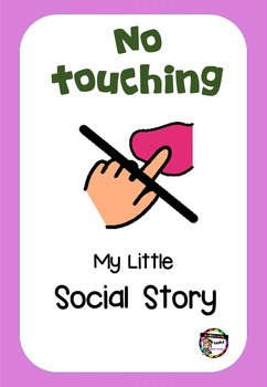 Social story - No touching