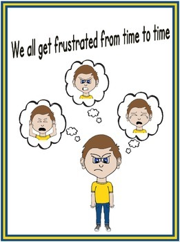 Social story - We all get frustrated from time to time