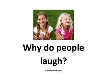 Social story about inappropriate laughing