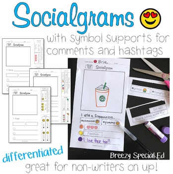 Socialgrams - a Social Writing and Communication Activity for Special Education
