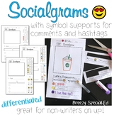 Socialgrams - a Social Writing and Communication Activity