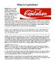 Socialism Vs. Capitalism Reading and Activity -History/Social Studies