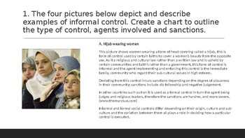 Socialization: Agencies of Control