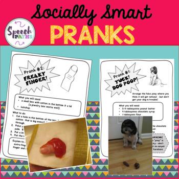 Socially Smart Pranks