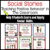 Socials Stories