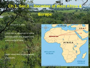 Societies of West Africa & Europe