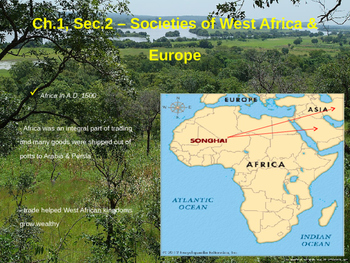Societies of West Africa & Europe