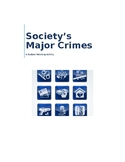 Sociey's Major Crimes:  A Forensics Matching Activity