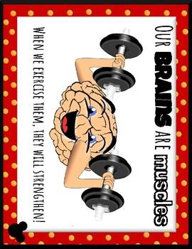 Growth Mindset Disney-Inspired Poster Pack