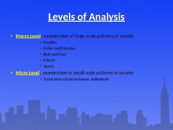Sociological Perspectives PowerPoint