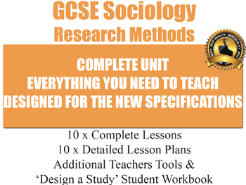 Sociological Research Methods (10 Lesson Unit) (Sociology)