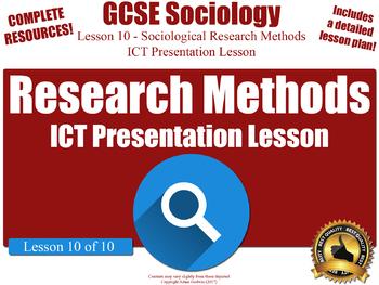 Sociological Research Methods - Unit Overview (GCSE Sociology - L10/10)
