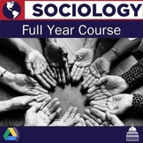 Sociology Full Year Course Bundle