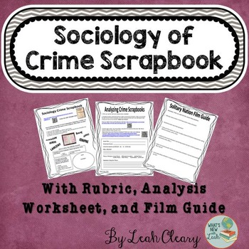Sociology Deviance Worksheets Teaching Resources TpT