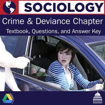 Sociology - Crime and Criminal Justice Textbook Chapter and Questions