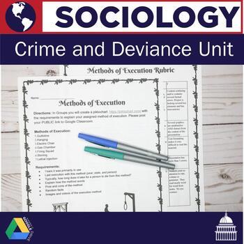 Sociology: Crime and Deviance Unit