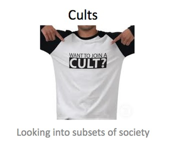 Sociology: Cults as a Counter Culture